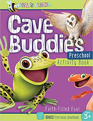 Cave Buddies: Preschool Activity Book