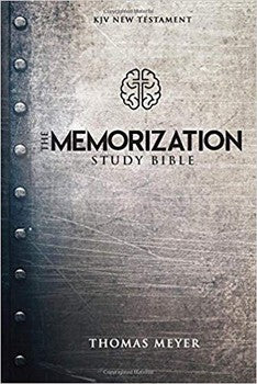The KJV Memorization Study Bible