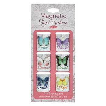Magnetic Pagemarker Set - Butterfly Blessings
