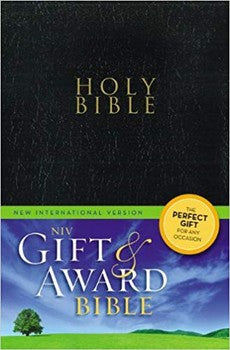 NIV Gift & Award Bible - Black