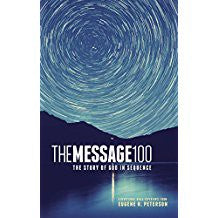 The Message 100 Devotional Bible - Hardcover