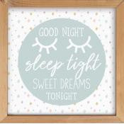 Framed Wall Art - Good Night Sleep Tight