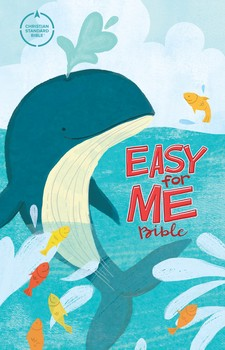 CSB Easy For Me Kids Bible - Whale
