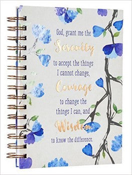 Journal - Serenity Prayer