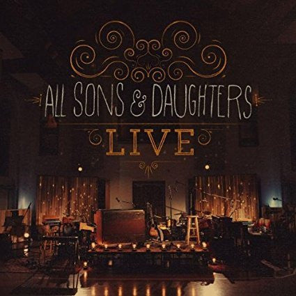 All Sons & Daughters Live CD