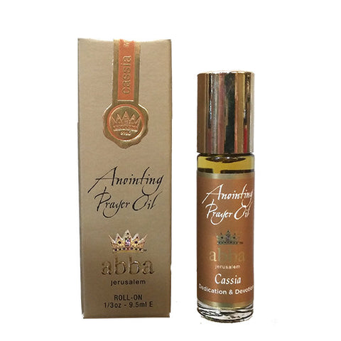 Anointing Prayer Oil - Cassia - 1/3oz - 9.5ml
