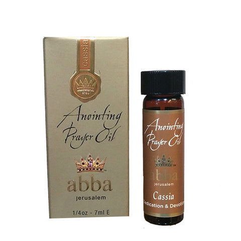 Anointing Prayer Oil - Cassia - 1/4oz - 7ml