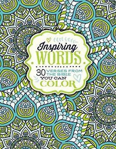 Colouring Book - Inspiring Words