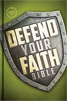 CSB Defend Your Faith Bible (Hardcover)