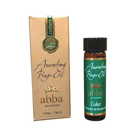 Anointing Prayer Oil - Cedars of Lebanon - 1/4 oz - 7ml