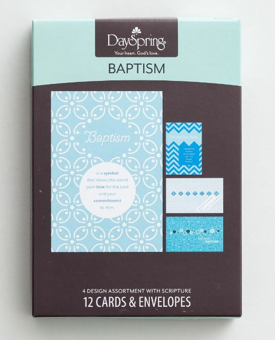 Boxed Cards - Baptism
