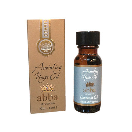 Anointing Prayer Oil - Covenant - 1/2oz - 14ml