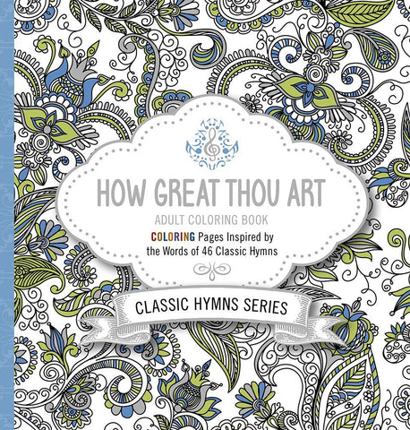 Colouring Book - How Great Thou Art