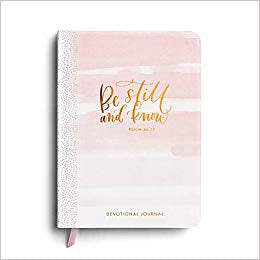 Devotional Journal - Be Still and Know