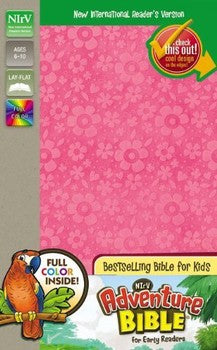 NIrV Adventure Bible for Early Readers - Pink