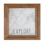 Farmhouse Frame Art - Explore
