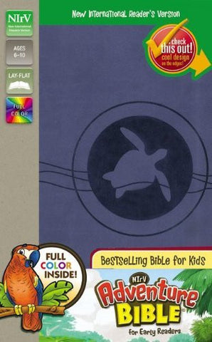 NIrV Adventure Bible for Early Readers - Blue