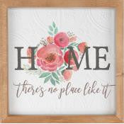 Framed Wall Art - Home There's No Place Like It
