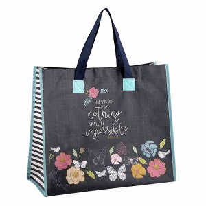 Tote Bag - Nothing Shall Be Impossible