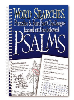 Word Searches, Puzzles... Based on the Beloved Psalms
