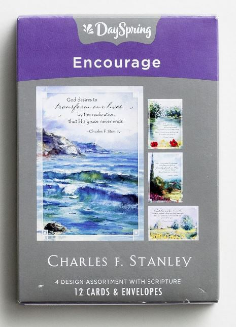 Boxed Cards - Charles Stanley Encouragement