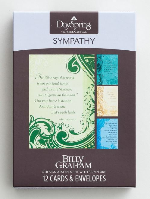 Boxed Cards - Sympathy Billy Graham
