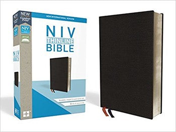 NIV Thinline Bible - Comfort Print Black