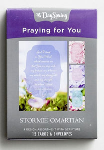 Boxed Cards - Praying For You Stormie Omartian