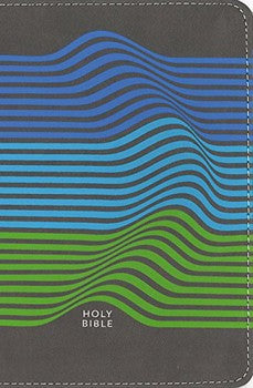 NIV Backpack Compact Bible - Wave Stripes