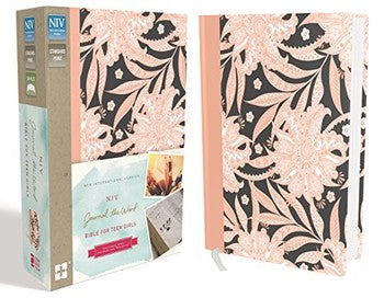 NIV Journal the Word Bible for Teen Girls - Pink Floral