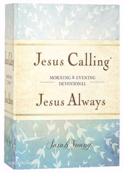 Jesus Calling Always Morning & Evening Devotional (Hardcover)