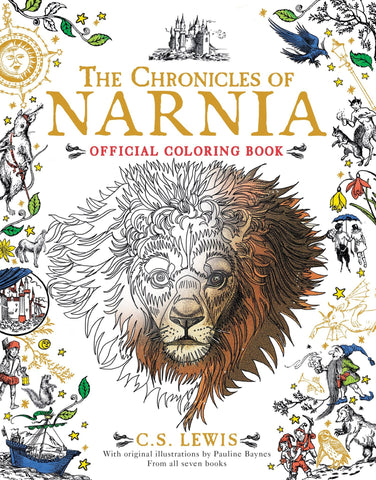 Colouring Book - The Chronicles of Narnia