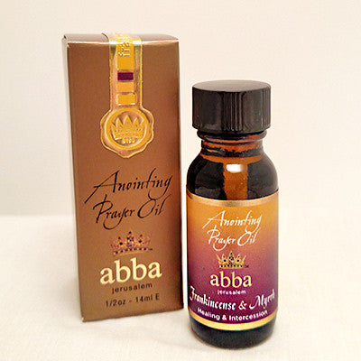 Anointing Prayer Oil - Frankincense & Myrrh - 1/2 oz - 14ml