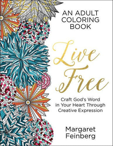 Colouring Book - Live Free