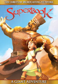 Superbook: Giant Adventure DVD