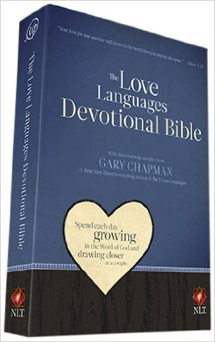 NLT- Love Languages Devotional Bible