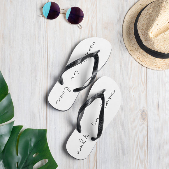 Walk in Love Flip-Flops