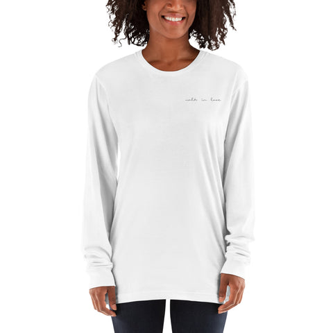Walk in Love Long sleeve t-shirt