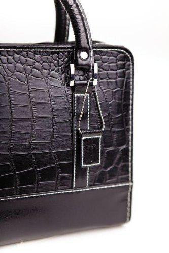 Bible Cover Purse Croc Onyx XL