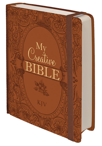 KJV My Creative Hardcover Journaling Bible - Brown