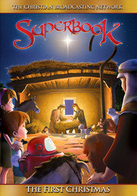 Superbook: First Christmas DVD