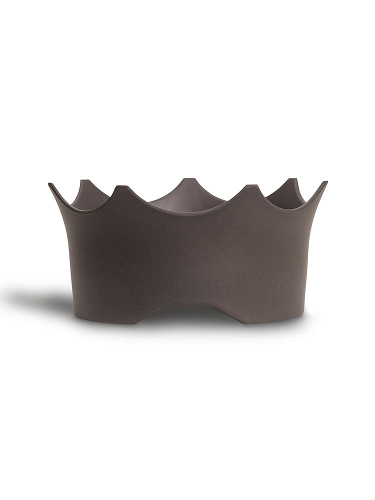 Crown Juwel Pet Bowl - Slate Gray