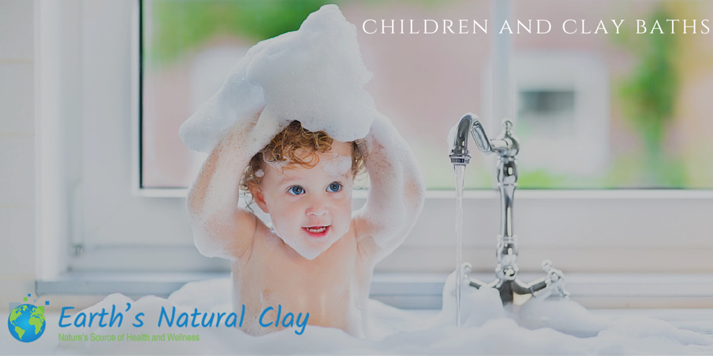 Children And Clay Baths