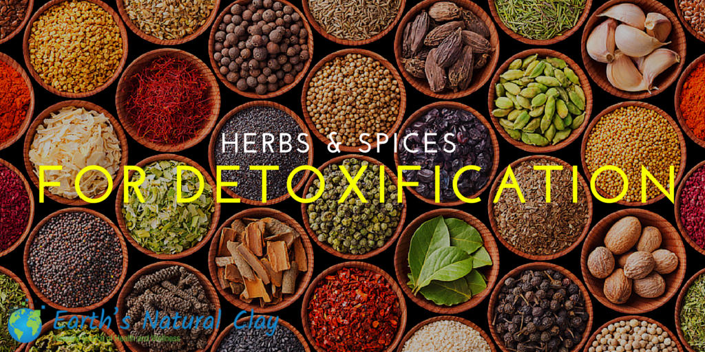 Herbs and Spices for Detoxification