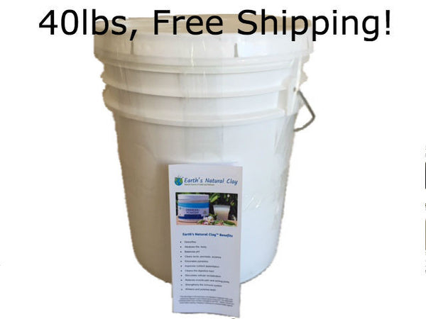 Wholesale Calcium Bentonite Clay - 40# Pail