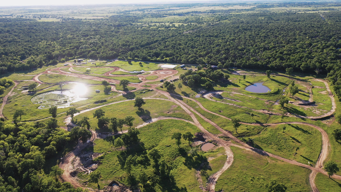 Aerial View of the Rally Ranch