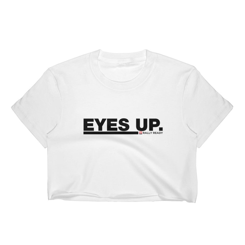 EYES UP Women's Crop Top