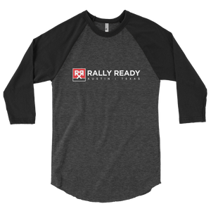 Rally Ready Logo 3/4 sleeve raglan shirt