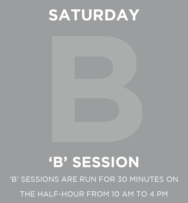 Saturday Member Day 'B' Session Pass