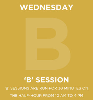 Wednesday Member Day 'B' Session Pass